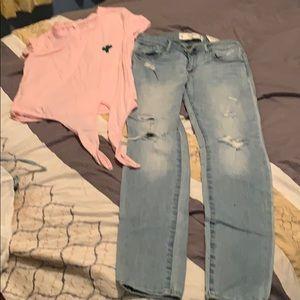 Pants - Pantalo y blusa